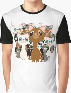 Herd of cats  Graphic T-Shirt