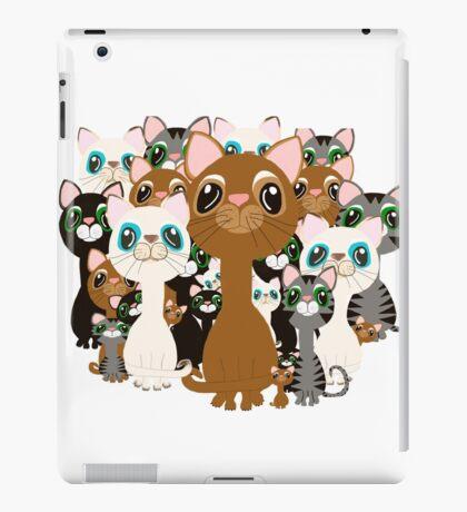 Herd of cats  iPad Case/Skin