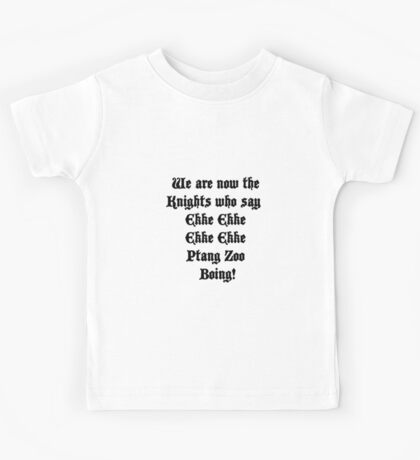 Ekke Ekke Ekke Ekke Ptang Zoo Boing! Kids Tee