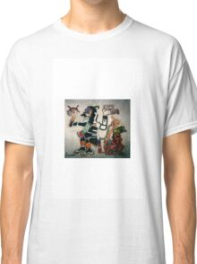 Aztec God of War with Captive Classic T-Shirt