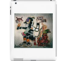 Aztec God of War with Captive iPad Case/Skin