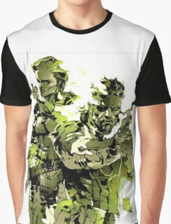 Snake MGS3 Graphic T-Shirt