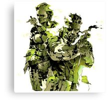 Snake MGS3 Canvas Print