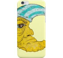 Old Man Moon iPhone Case/Skin