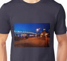 Yorktown Beach at Twilight Unisex T-Shirt