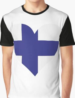 A heart for Finland Graphic T-Shirt