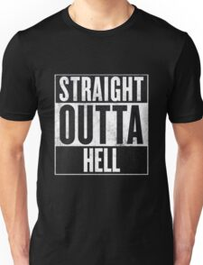Straight Outta Hell Unisex T-Shirt