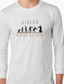 Aikido Evolution Long Sleeve T-Shirt