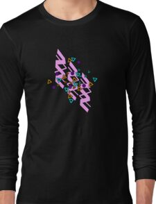 Retro Flair Long Sleeve T-Shirt