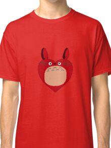 Valentines Totoro Classic T-Shirt