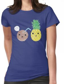 Pina Colada Womens Fitted T-Shirt