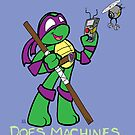 Teenage Mutant Ninja Turtles- Donatello by LillyKitten