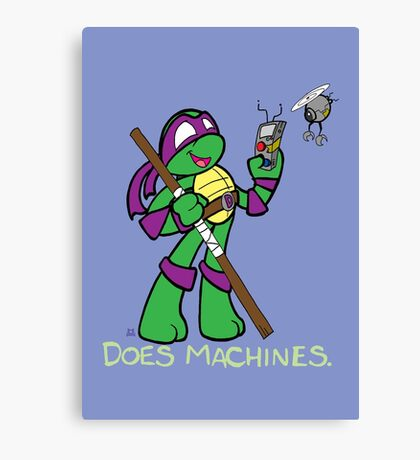 Teenage Mutant Ninja Turtles- Donatello Canvas Print