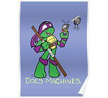 Teenage Mutant Ninja Turtles- Donatello Poster