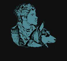 Blue Joey Graceffa and Wolf Design T-Shirt