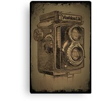 Yashica LM TLR Canvas Print