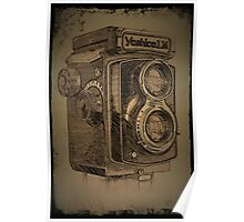 Yashica LM TLR Poster