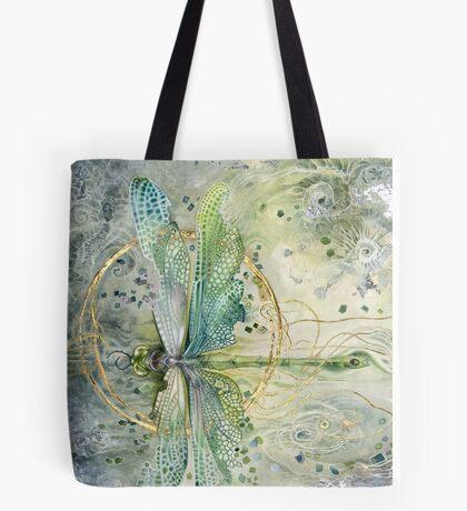 Beautiful Enchanted Dragonfly  Tote Bag