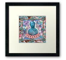 lady cakes Framed Print