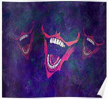Joker + Batman Smile Poster