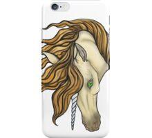Golden Unicorn iPhone Case/Skin
