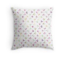 Pastel Burst Throw Pillow
