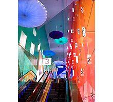 Beverly Center Escalator Photographic Print