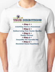 True Directions (But I'm a Cheerleader) Unisex T-Shirt