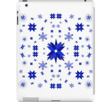 Snow-stars iPad Case/Skin