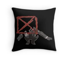Blockhead Throw Pillow
