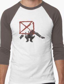 Blockhead Men's Baseball ¾ T-Shirt