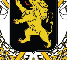 National Coat of Arms of Belgium Sticker