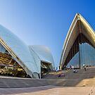 Wide-eyed Sydney Opera House - Australia by Bryan Freeman