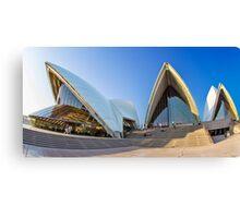 Wide-eyed Sydney Opera House - Australia Canvas Print