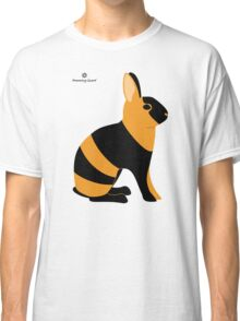 Black Japanese Rabbit Classic T-Shirt