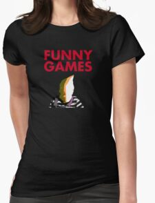Funny Games Bag Boy Womens Fitted T-Shirt