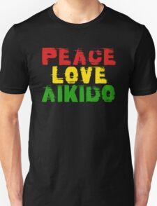 Peace Love Aikido Unisex T-Shirt