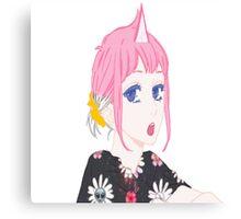 UNI GIRL Canvas Print