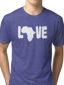 Love Africa Tri-blend T-Shirt