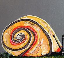 Citrus Snail by zouzousbasement