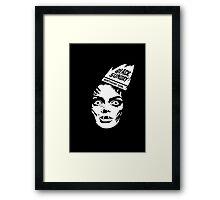 "Black Sunday ""Birthday Girl"" Framed Print"