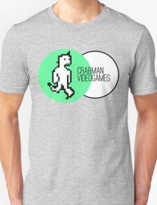 Crabman Videogames Logo Unisex T-Shirt