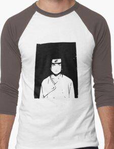 Neji Hyuga Men's Baseball ¾ T-Shirt
