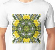 Kaleidoscope of showy St Johns Wort  Unisex T-Shirt