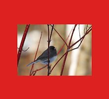 Junco On Dogwood Womens Fitted T-Shirt