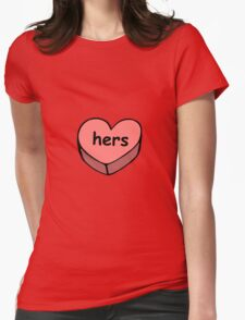 Hers valentine love candy ♥ T-Shirt