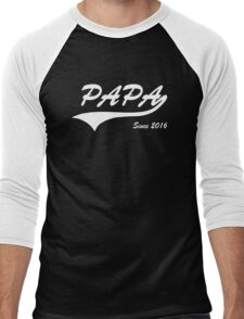 Papa Since 2016 Men's Baseball ¾ T-Shirt