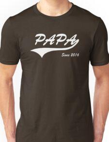 Papa Since 2016 Unisex T-Shirt