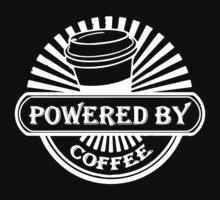 Powered by coffe Kids Tee