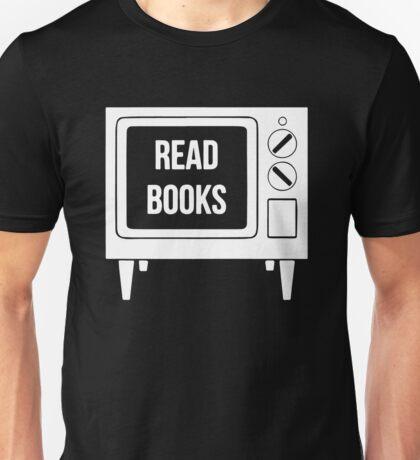 Read Books No More TV Unisex T-Shirt